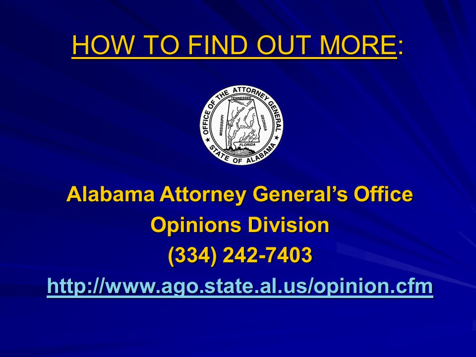Alabama Attorney General's Office