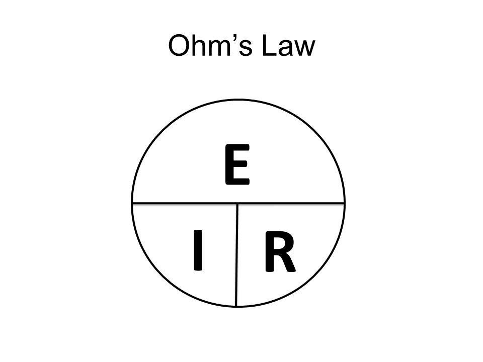 Ohm's Law E I R