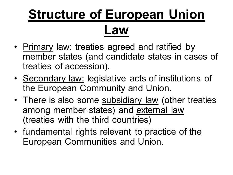an overview of the european communities law assignment Introduction there are various laid down in this business law sample  assignment related to  i choose the case of united brands v commission of the  european communities court of justice of the european communities case 27/  76 [1978].