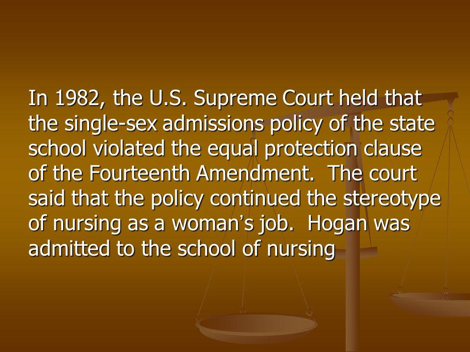 In 1982, the U.S.