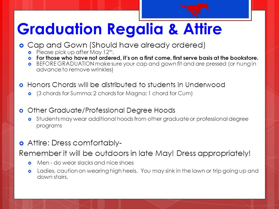 Graduation Regalia & Attire