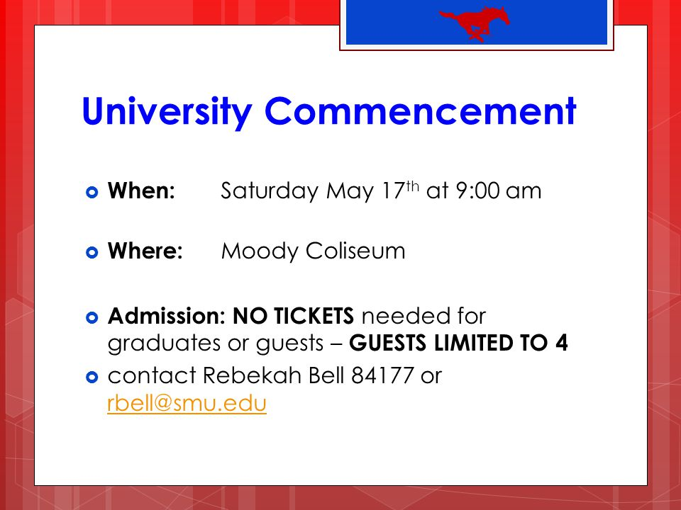University Commencement