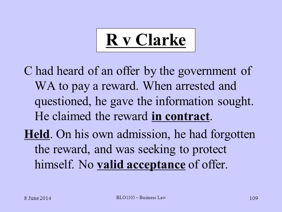 R v Clarke