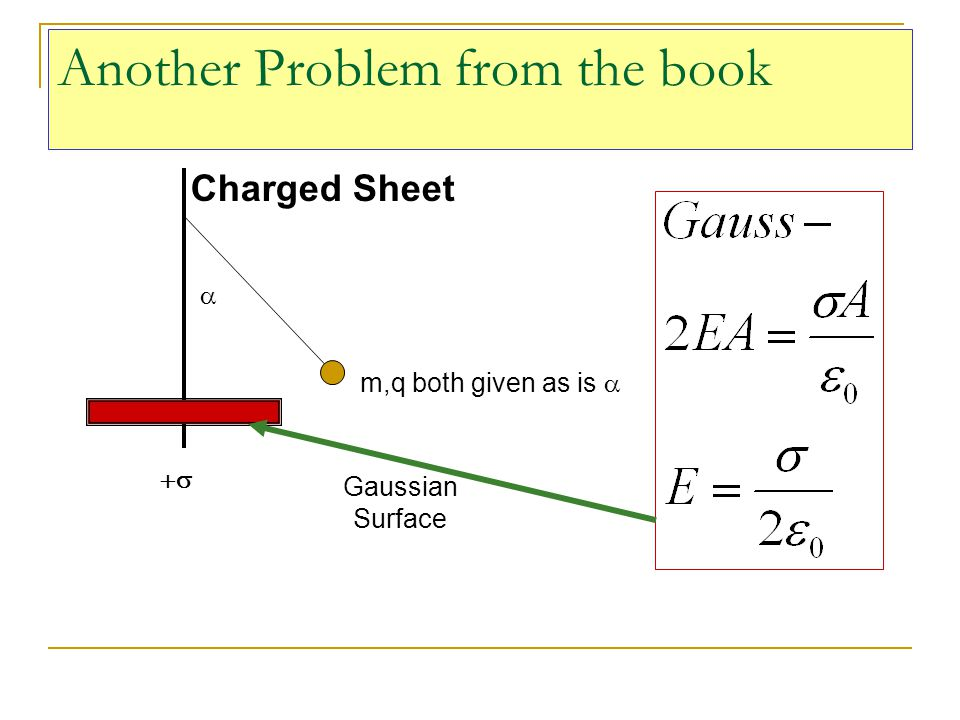 Another Problem from the book