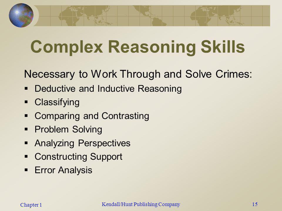 Complex Reasoning Skills