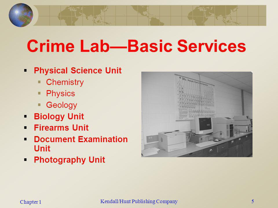 Crime Lab—Basic Services