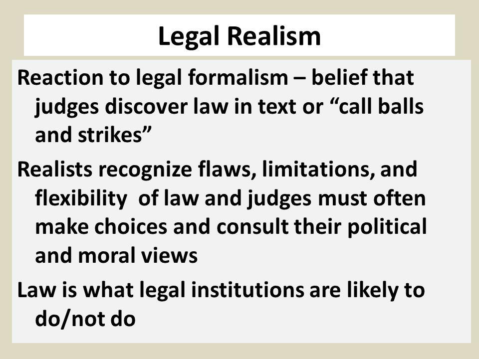Legal Realism