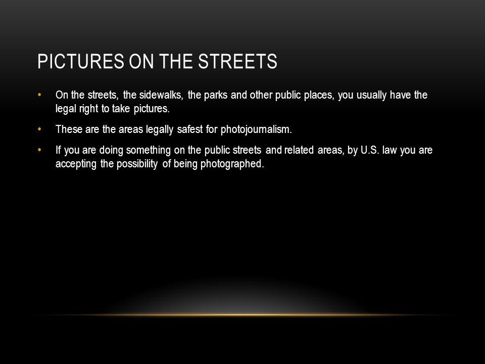 Pictures on the streets