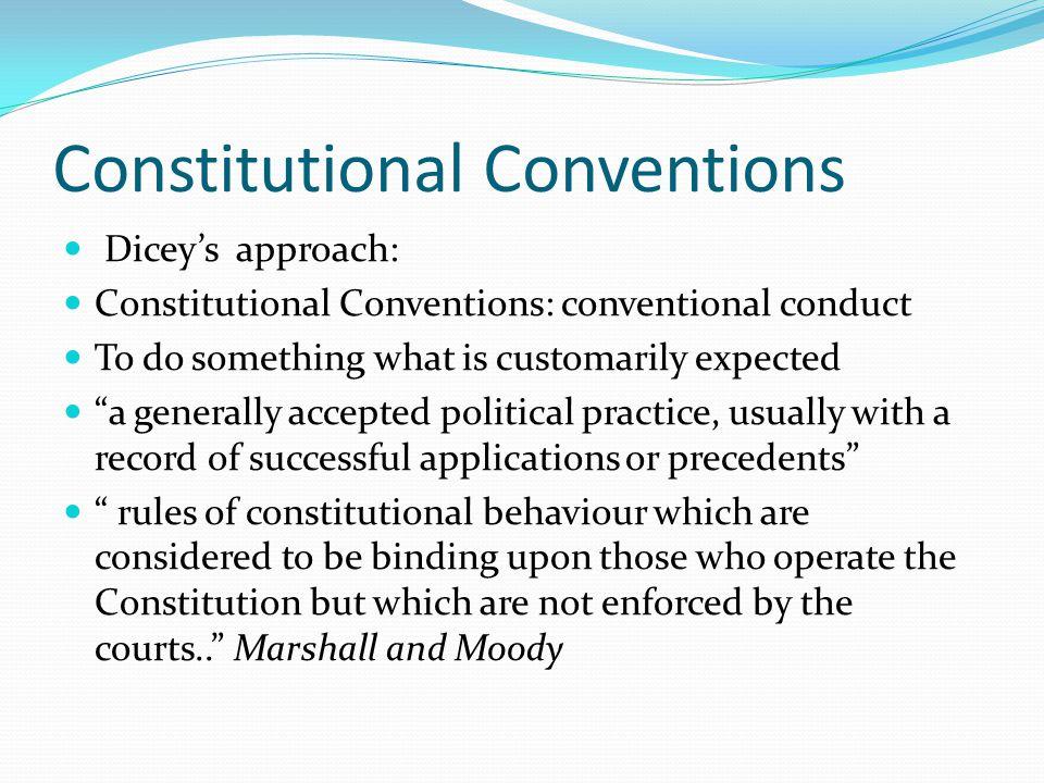 Constitutional Conventions