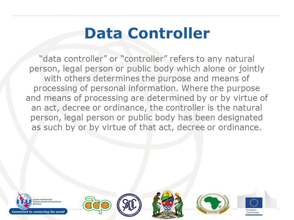Data Controller