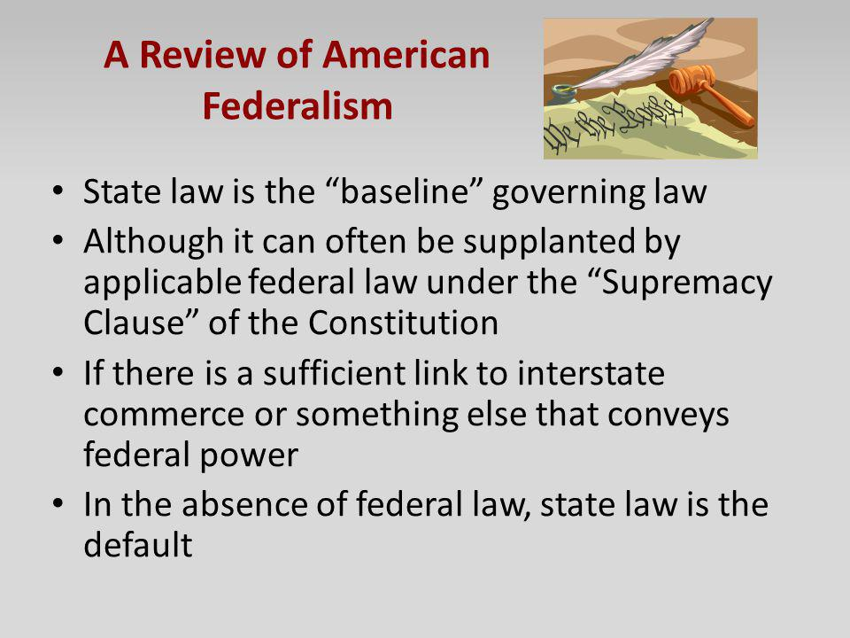 A Review of American Federalism