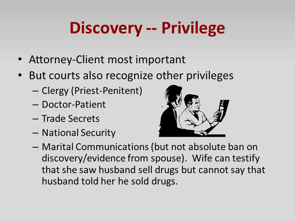 Attorney Client Privilege National Security