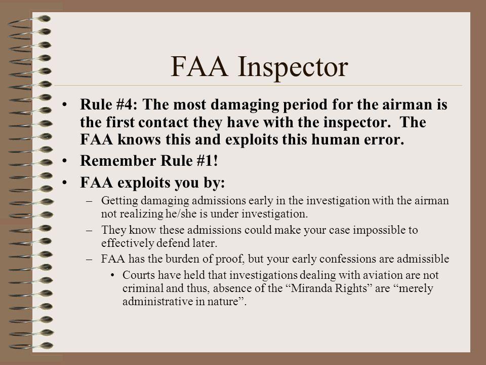 FAA Inspector