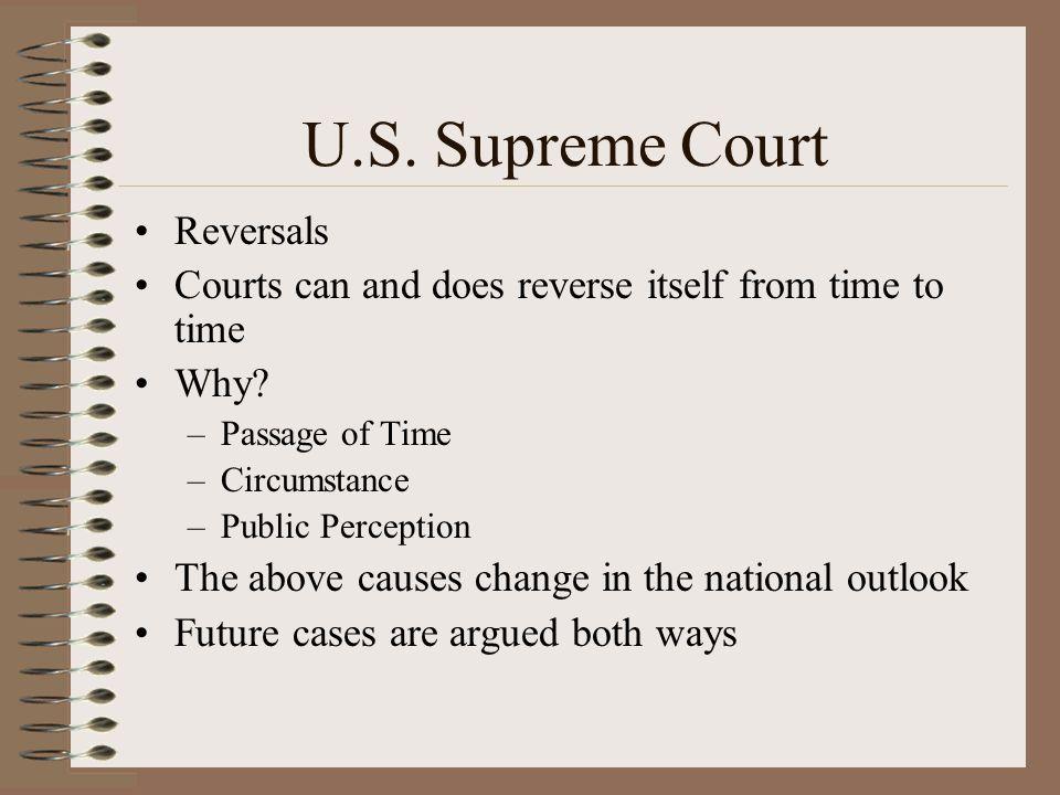 U.S. Supreme Court Reversals