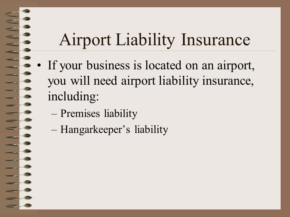 Airport Liability Insurance