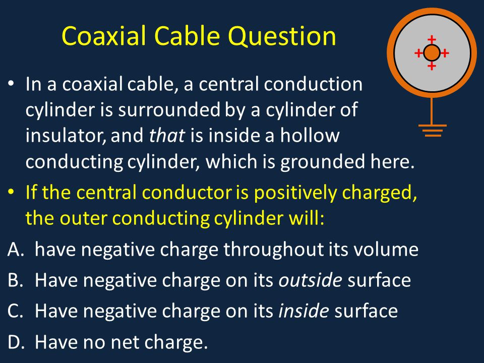 Coaxial Cable Question