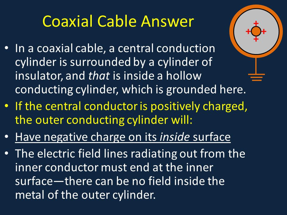 Coaxial Cable Answer +