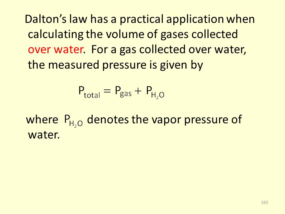 where denotes the vapor pressure of water.
