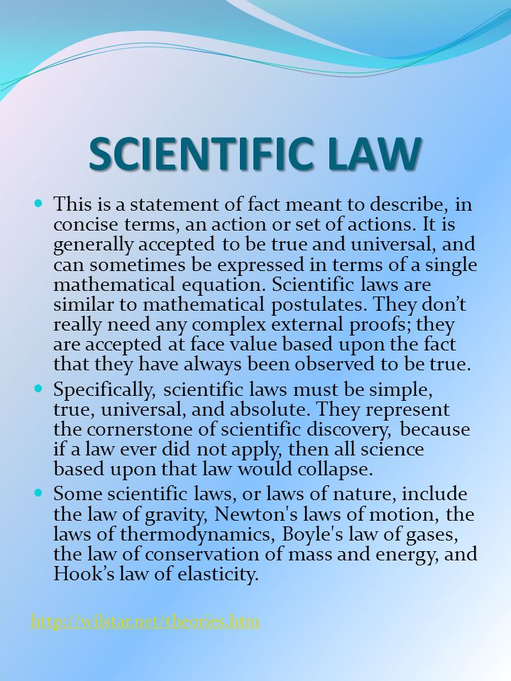 big idea 3 the role of theories laws hypotheses and