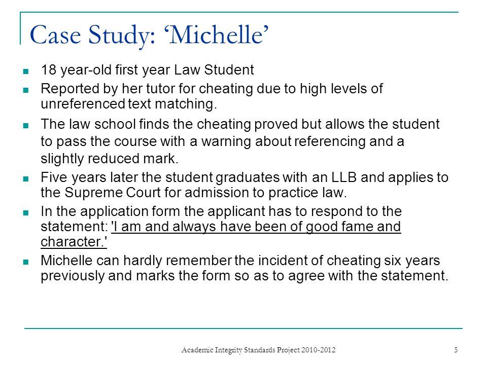 Case Study: 'Michelle'