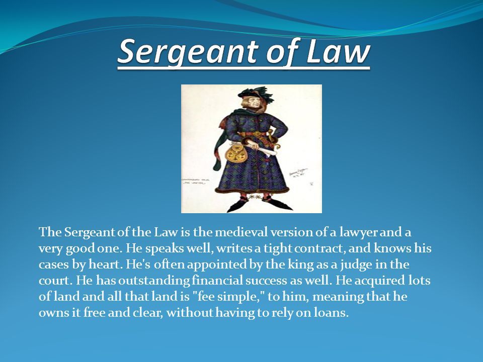 Sergeant of Law