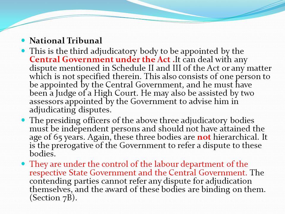 National Tribunal