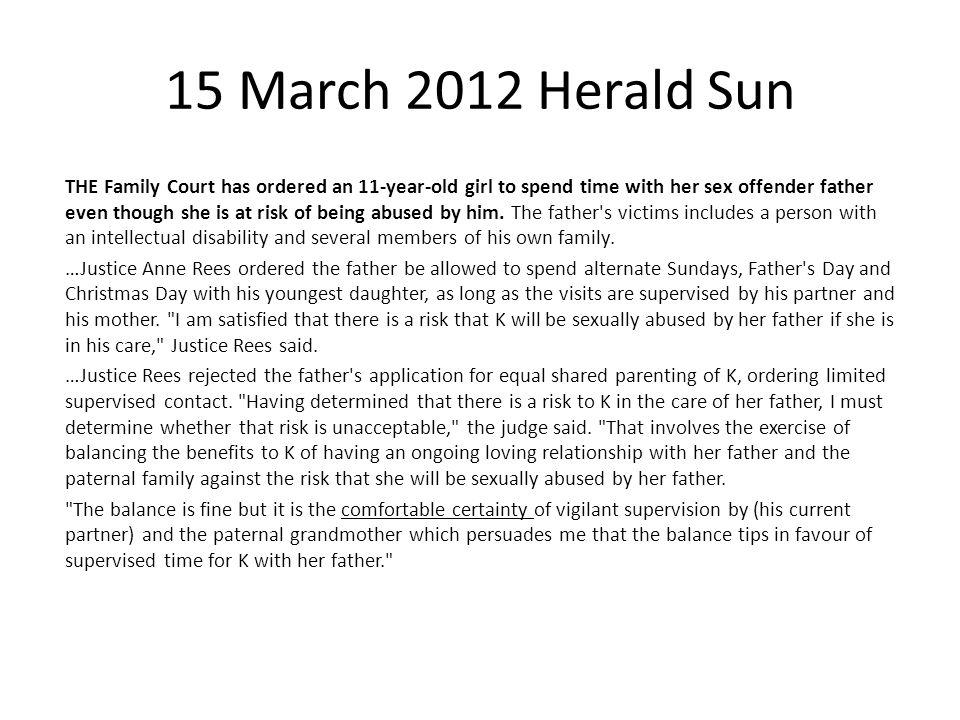15 March 2012 Herald Sun