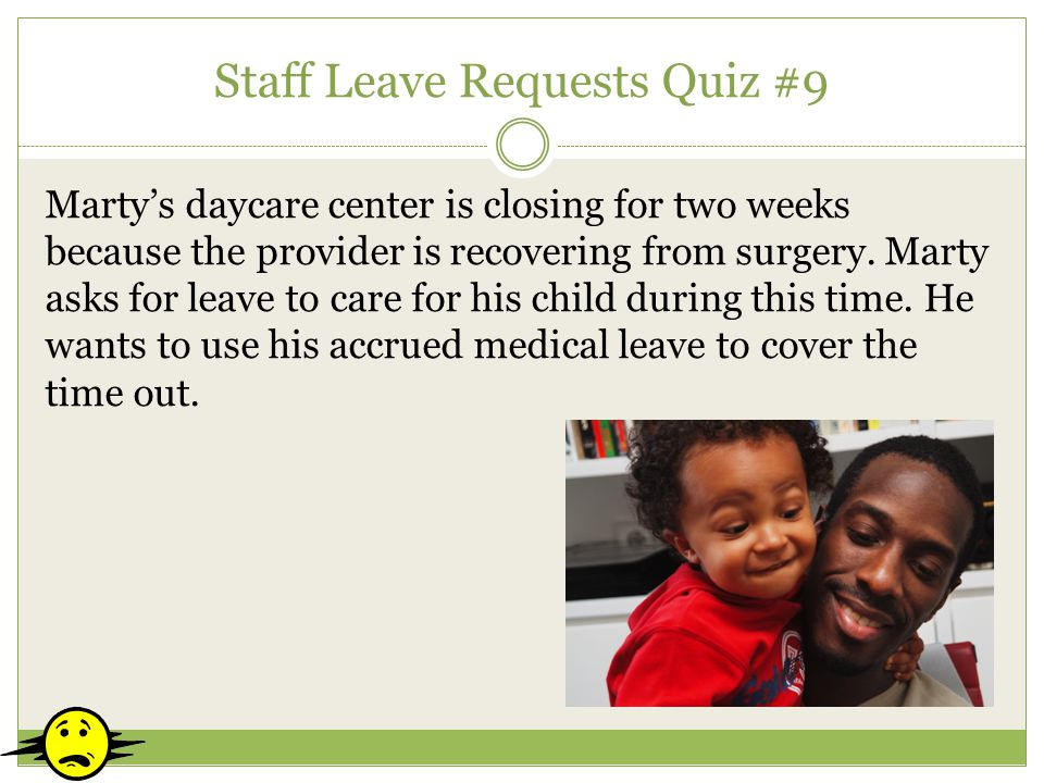 Staff Leave Requests Quiz #9
