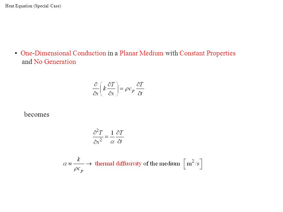 Heat Equation (Special Case)