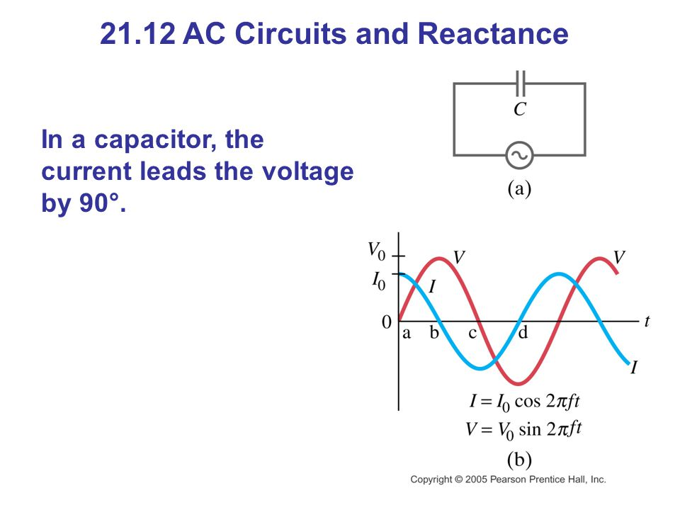 21.12 AC Circuits and Reactance