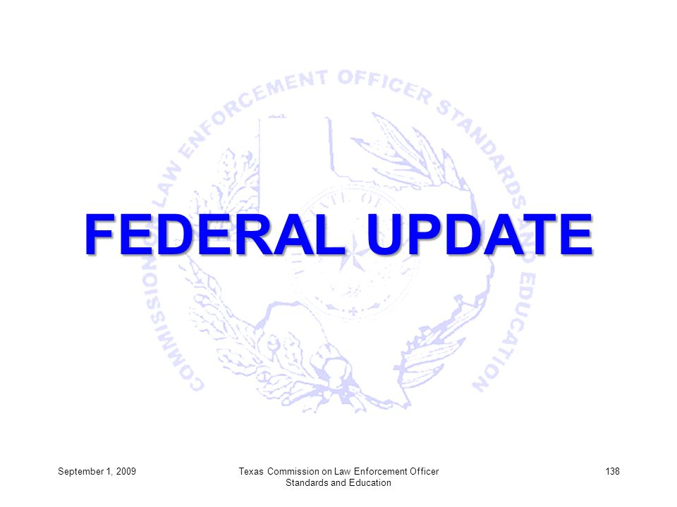 Texas Commission on Law Enforcement Officer Standards and Education
