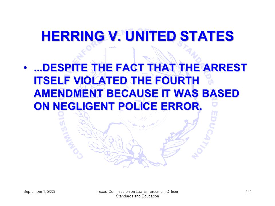 HERRING V. UNITED STATES
