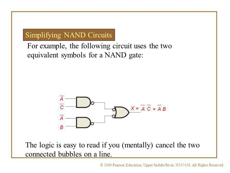Simplifying NAND Circuits