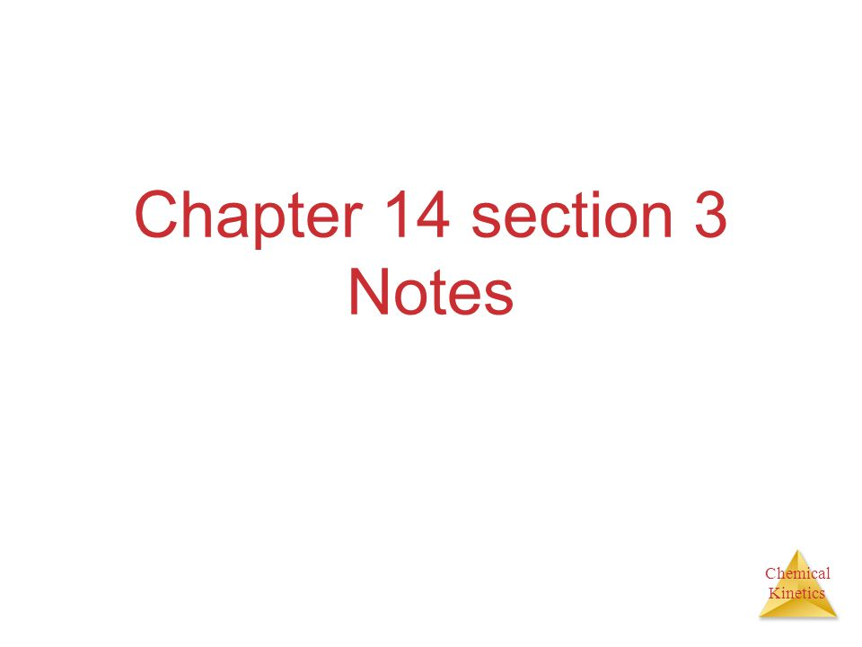 Chapter 14 section 3 Notes