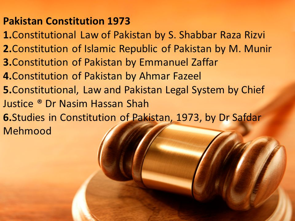 Pakistan Constitution 1973