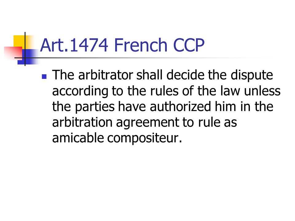 Art.1474 French CCP