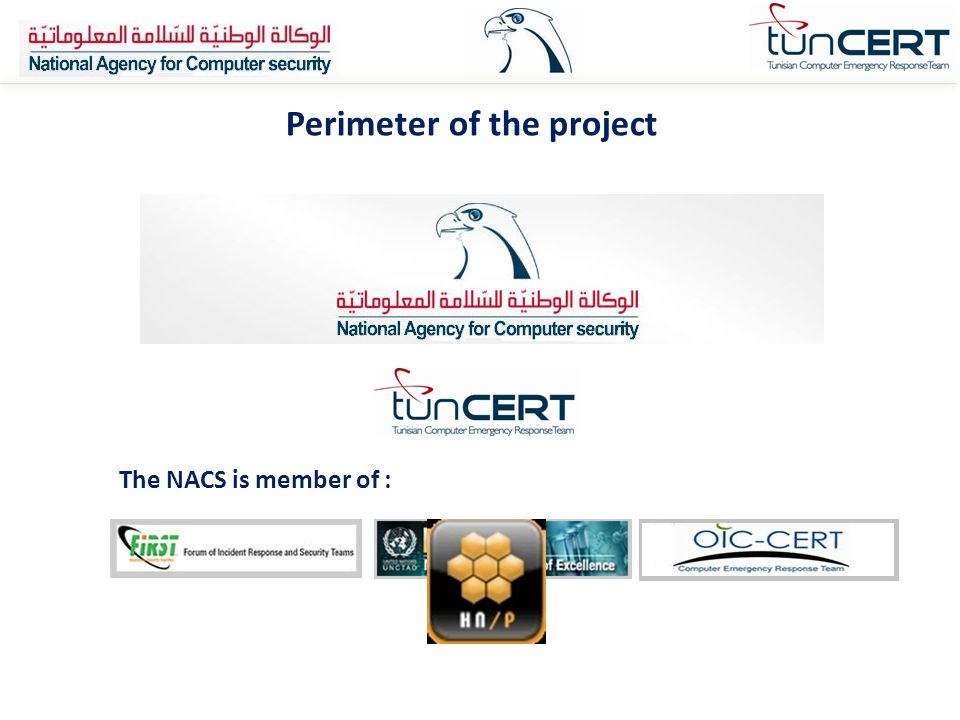 Perimeter of the project