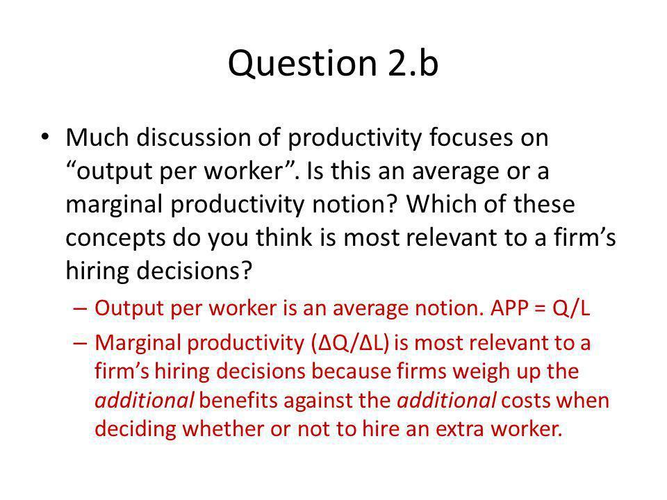 Question 2.b