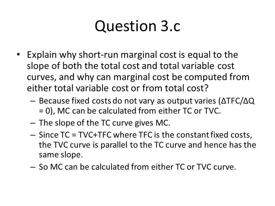 Question 3.c