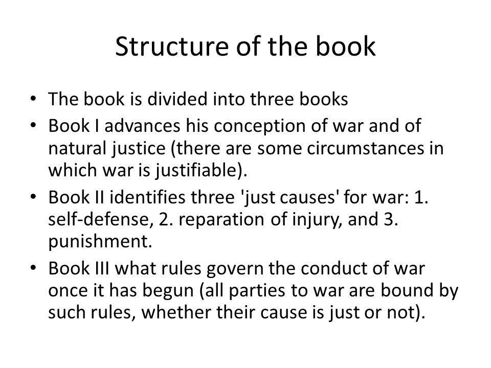 Structure of the book The book is divided into three books
