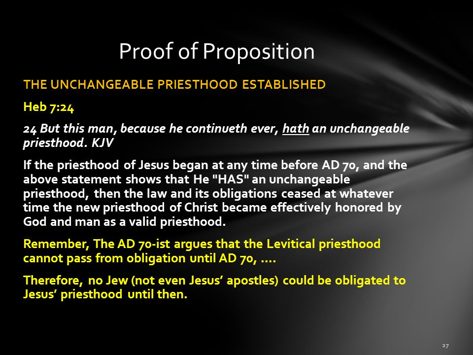 Proof of Proposition