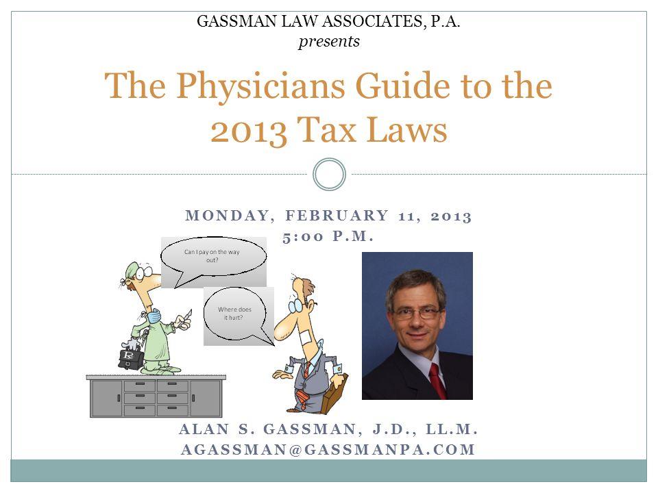 GASSMAN LAW ASSOCIATES, P. A