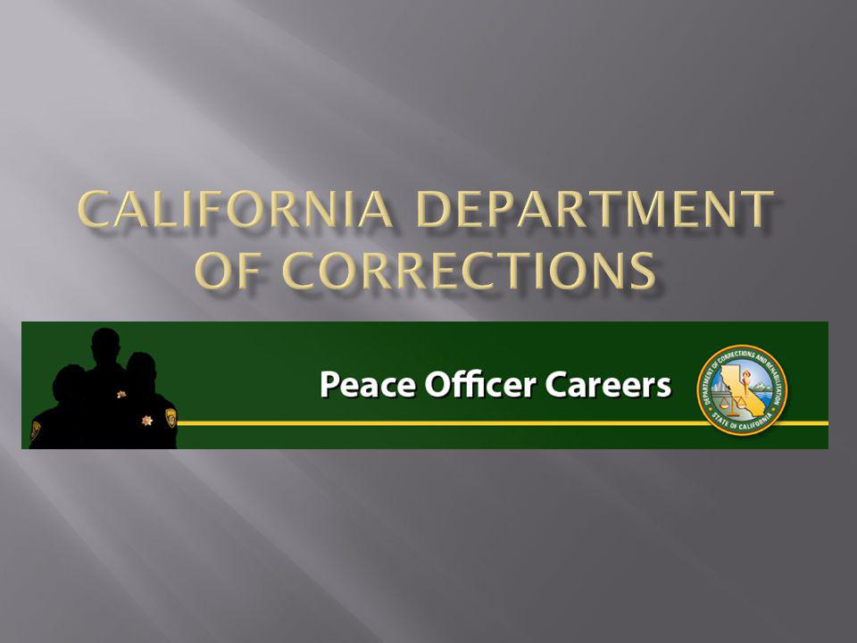 California department of corrections