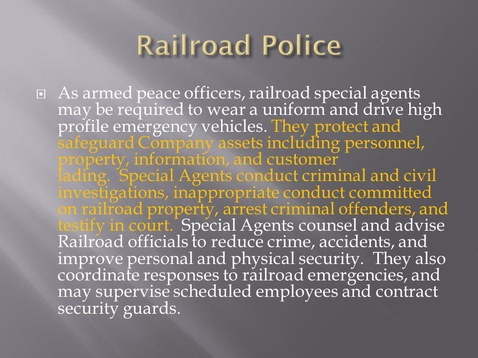 Railroad Police