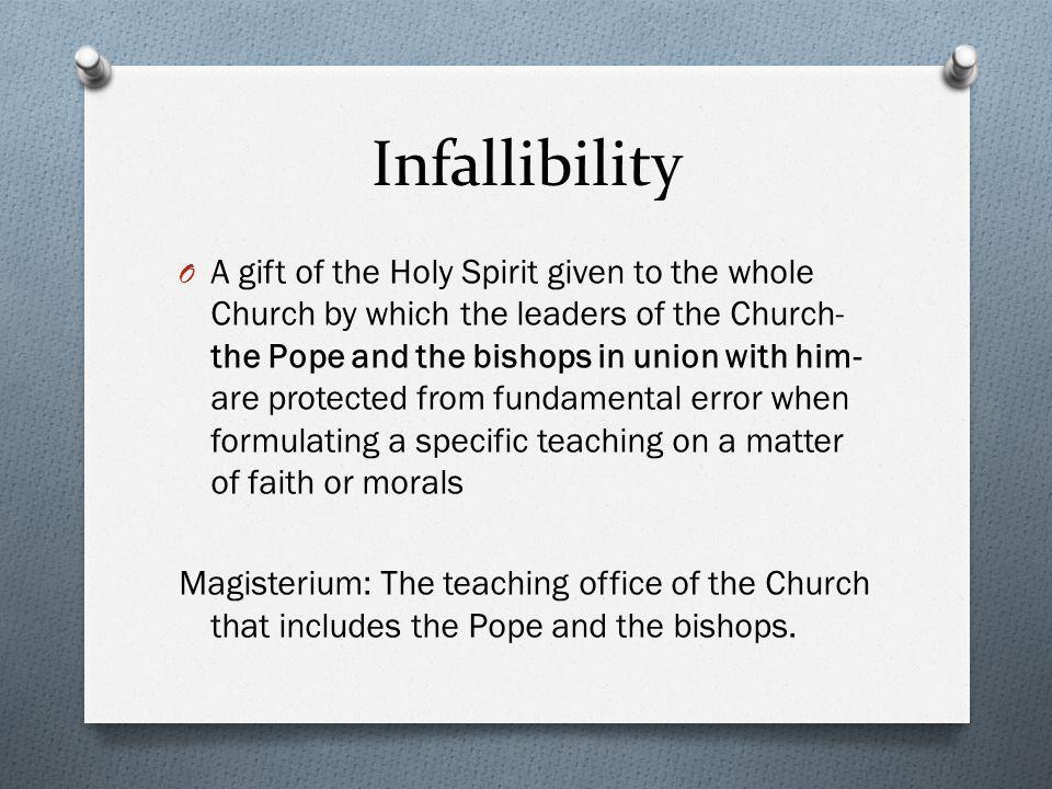 Infallibility