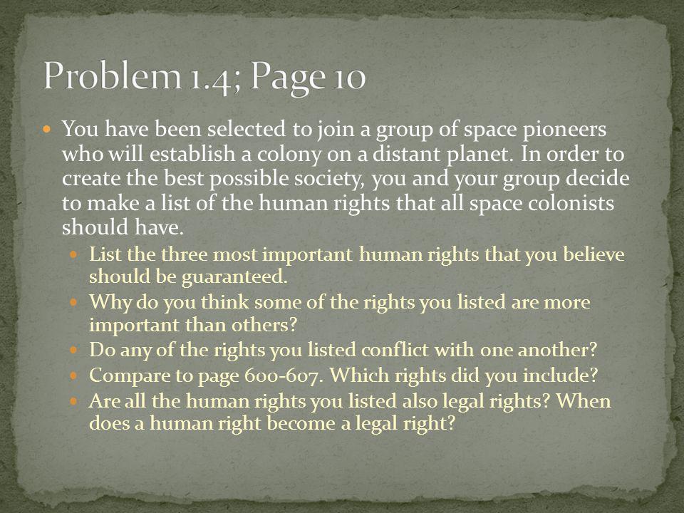 Problem 1.4; Page 10