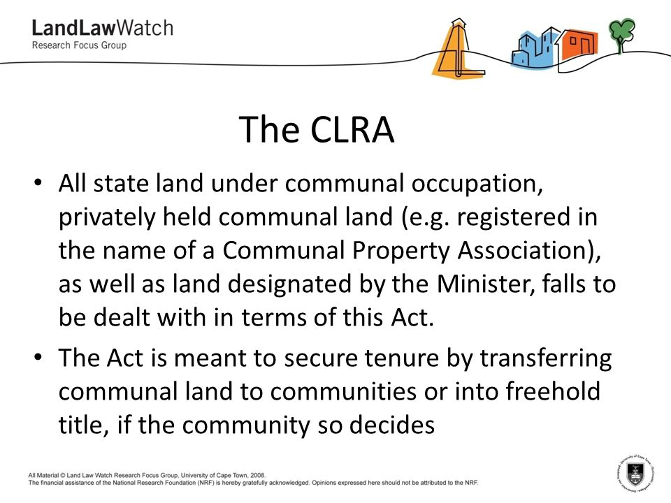 The CLRA