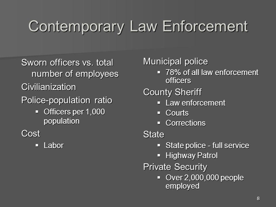 Contemporary Law Enforcement