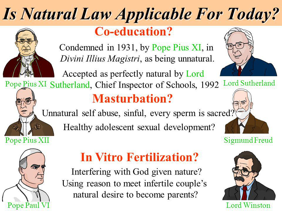 Is Natural Law Applicable For Today