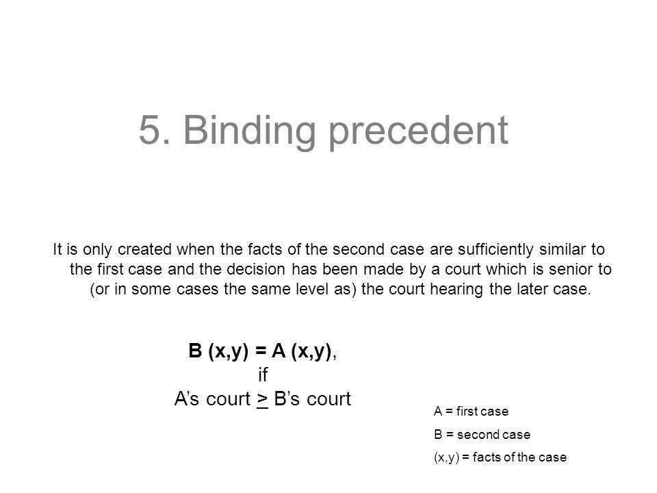 A's court > B's court